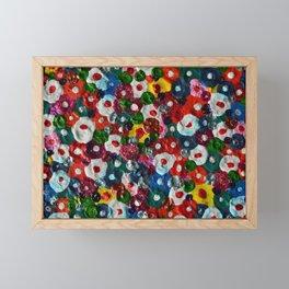 Flowers Blooming Framed Mini Art Print