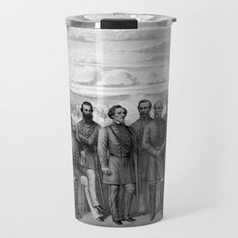 The Generals Of The Confederate Army Travel Mug