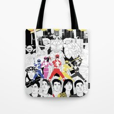 The Mightiest, Morphin'est Tote Bag