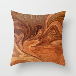 Desert Stone Throw Pillow