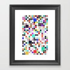 365 Days of Type Framed Art Print