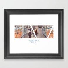 Episode IV — Epic Framed Art Print