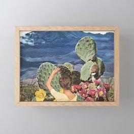 Curious Framed Mini Art Print