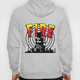 Firefighter Love Fire Ax Hose Extinguisher Gift Hoody