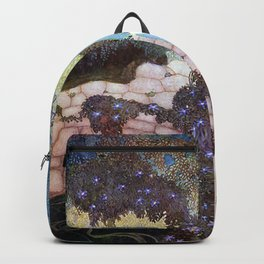 Stealers of Light By Edmund Dulac Backpack