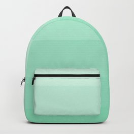 Soft Seafoam Green Hues - Color Therapy Backpack