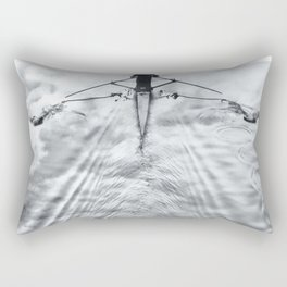 Rowing on a River of Clouds Rectangular Pillow