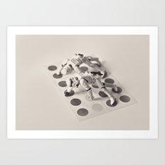 trooper twister Art Print