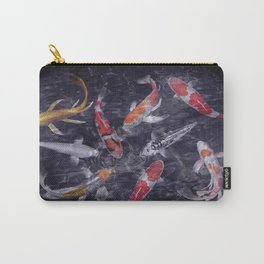 Koi Fish Painting Carry-All Pouch