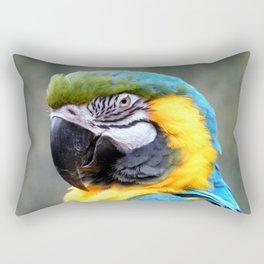 Beautiful Macaw  Rectangular Pillow