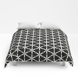 Flower of Life Pattern 3 Comforters