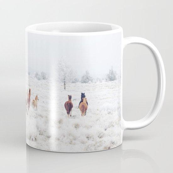 Winter Horses Mug
