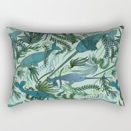 Narwhals Rectangular Pillow