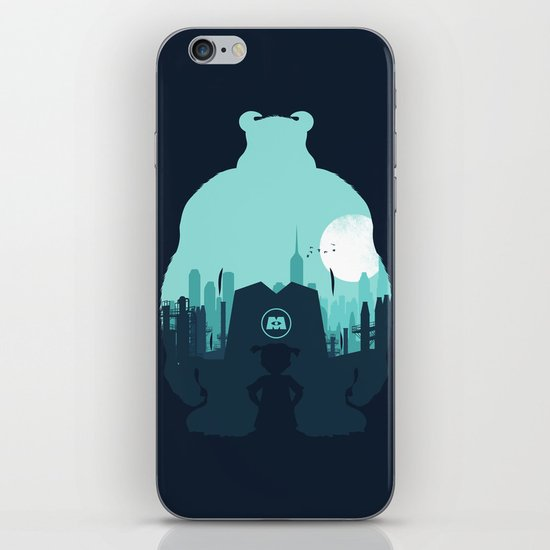 Welcome To Monsters, Inc. iPhone & iPod Skin