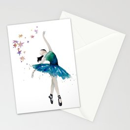 Life is better when you dance Stationery Cards