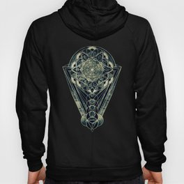 Sacred Geometry for your daily life -  Galactic OHM Hoody