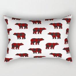 Lumberjack Bears Rectangular Pillow
