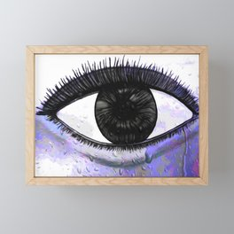 Eye Of The Rainbow Framed Mini Art Print
