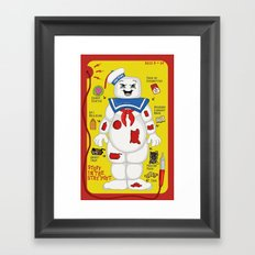 Stuff in the Stay Puft Framed Art Print