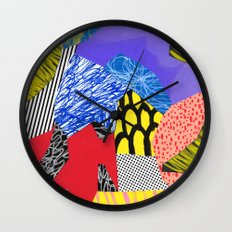 Colors & Shapes Wall Clock