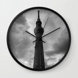 Tokyo Skytree - 東京タワ Wall Clock