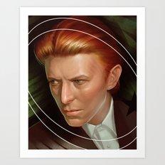 Starman Bowie Art Print