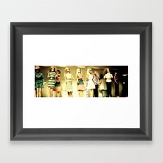 In a Barbie World Framed Art Print