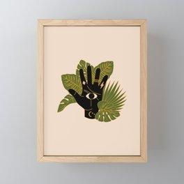 Mystic Hand Framed Mini Art Print