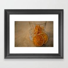 Afternoon drink Framed Art Print