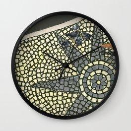 Portuguese Pavement Wall Clock