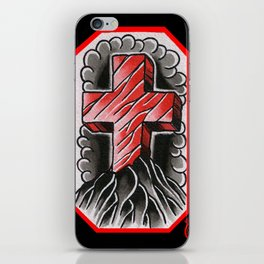 cross of ages iPhone Skin
