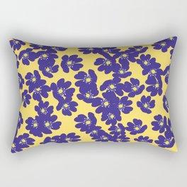 Blåsippor. Liverwort Rectangular Pillow