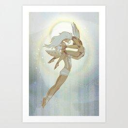 Danseurs Cosmiques 4 Art Print