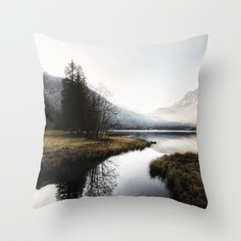 Mountain river 2 Throw Pillow
