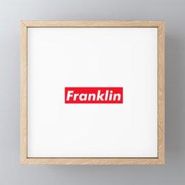 Franklin Framed Mini Art Print