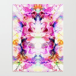 Power Flowers Poster