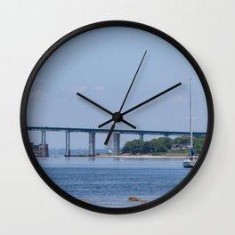 Calm Bay Kinda Day Wall Clock