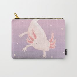 Axolotl - Lavender Carry-All Pouch