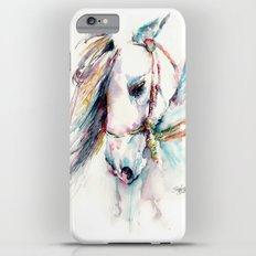 Fantasy white horse Slim Case iPhone 6s Plus