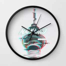 Neo Auckland (RGB- Split) Wall Clock