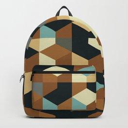 Abstract Geometric Artwork 54 Backpack