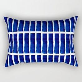 Shibori Stripes Rectangular Pillow
