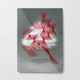 Nube Metal Print