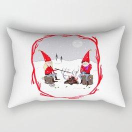 Snow and Stories Rectangular Pillow