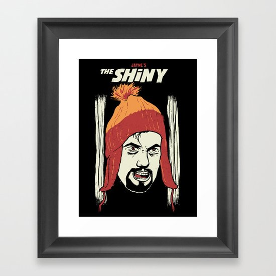 The Shiny Framed Art Print