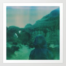 Wanderlust in Polaroid Art Print