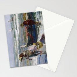 Joaquin Sorolla, Return from Fishing, 1889 Stationery Cards