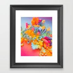COLOR.FLU (everyday 04.21.17) Framed Art Print