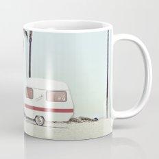NEVER STOP EXPLORING - CAMPING PALM BEACH Mug
