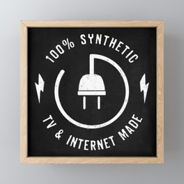 100% Synthetic Framed Mini Art Print